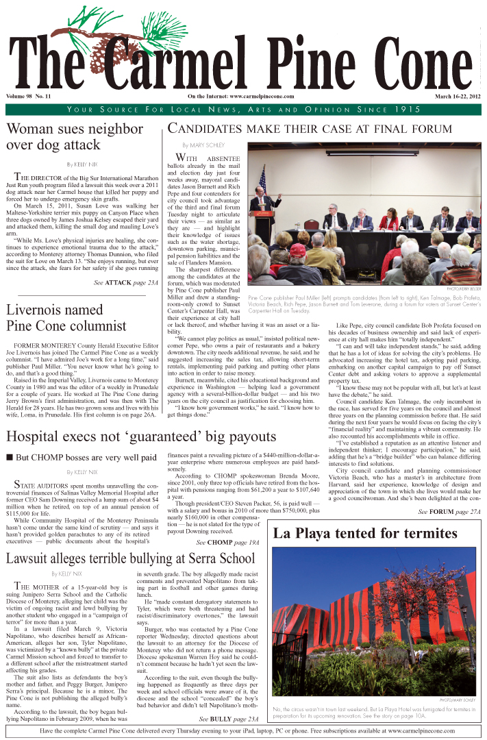 Click here to download the March 16, 2012, main news section