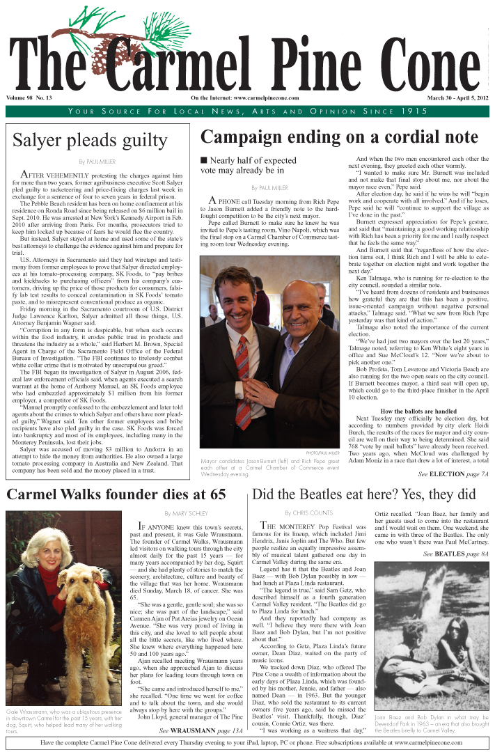 Click here to download the March 30, 2012, main news section