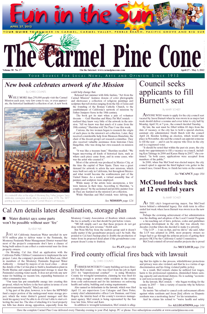 Click here to download the April 27, 2012, main news section