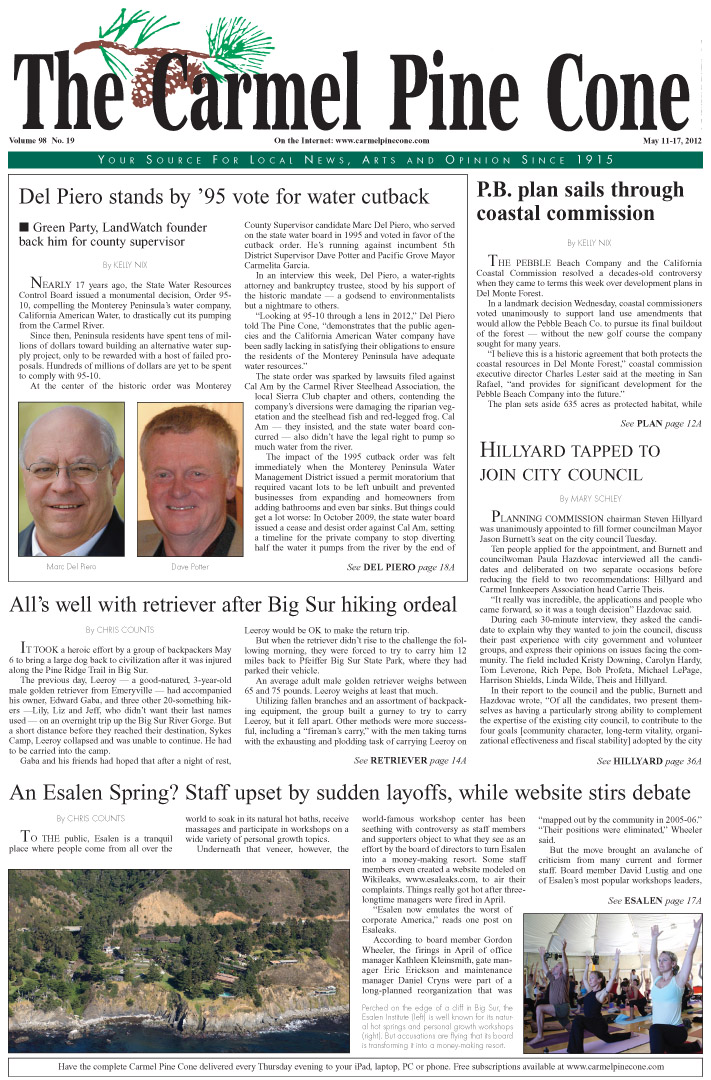 Click here to download the May 11, 2012, main news section
