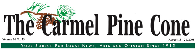 Use this page to download the August 15, 2008, edition of The Carmel Pine Cone