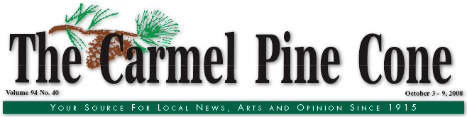 Use this page to download the October 3, 2008, edition of The Carmel Pine Cone