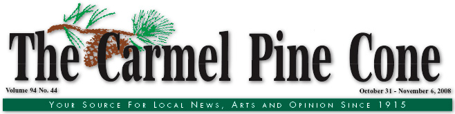 Use this page to download the October 31, 2008, edition of The Carmel Pine Cone