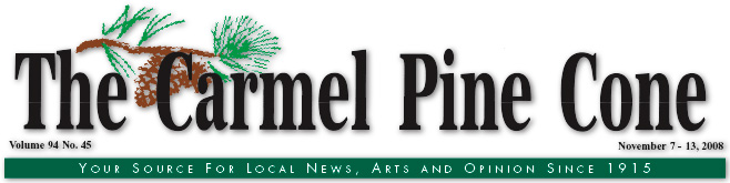 Use this page to download the November 7, 2008, edition of The Carmel Pine Cone